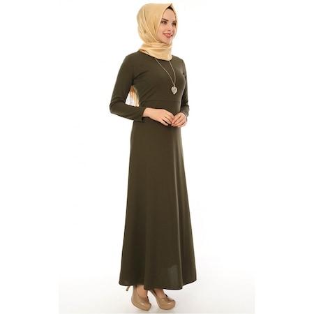 befd8a884b696 Bedene 2019 Tesettür Elbise & Tunik Modelleri - n11.com - 27/50