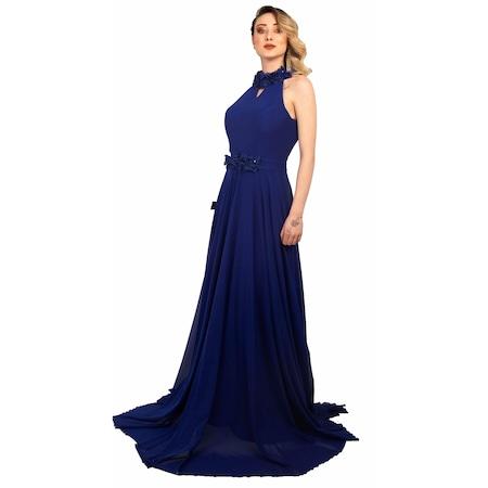 7f4925ee06bf8 Uzun Tül Elbise 2019 Abiye & Gece Elbise Modelleri - n11.com