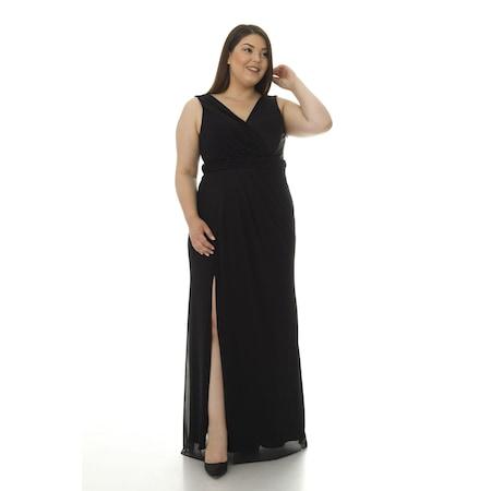 3d91f63eca201 Ironi Uzun Elbise Bayan Büyük Beden Giyim - n11.com - 6/8