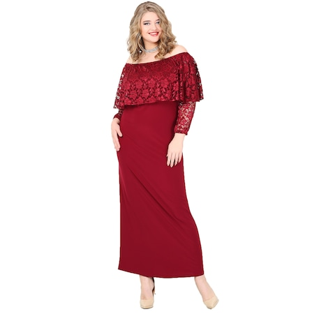 6f9d1ed694a78 Uzun Elbise Bayan Büyük Beden Giyim - n11.com - 6/9