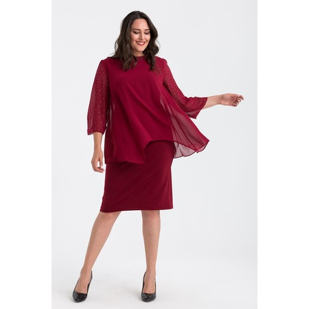 988f9b389c19e Elbise Bayan Büyük Beden Giyim - n11.com - 29/50
