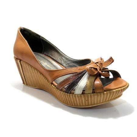Bayan Günlük Deri Ayakkabı El Yapımı