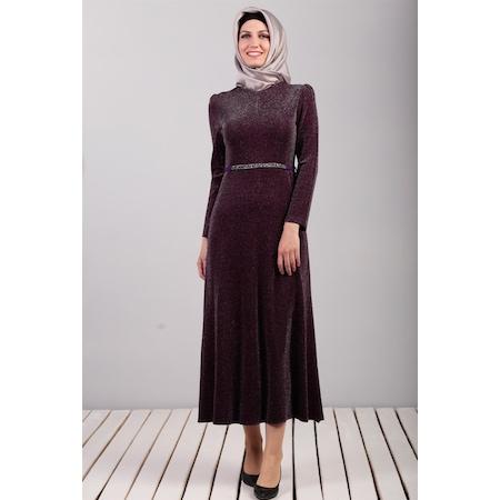 8885fbd1dd891 Kemerli Elbise Tesettür Giyim - n11.com - 2/5