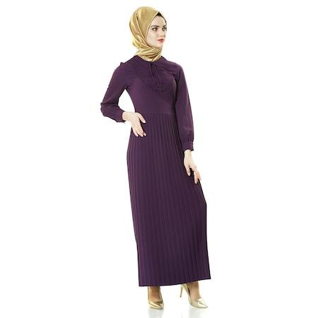 48f2f28da4b52 Famelin Elbise 2019 Tesettür Elbise & Tunik Modelleri - n11.com