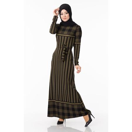 ecd88c64fcd01 2019 Tesettür Elbise & Tunik Modelleri - n11.com
