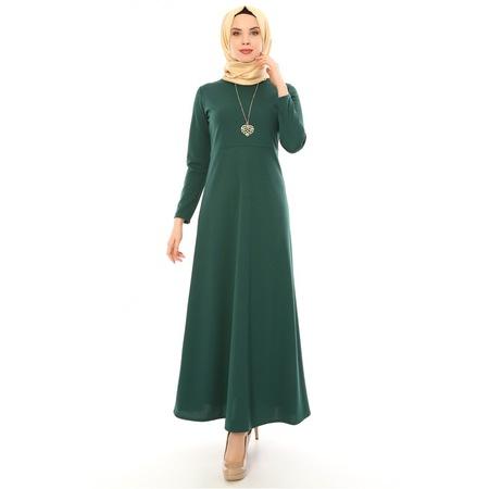 d5e150295db48 Kadin Uzun Elbise 2019 Tesettür Elbise & Tunik Modelleri - n11.com - 5/7