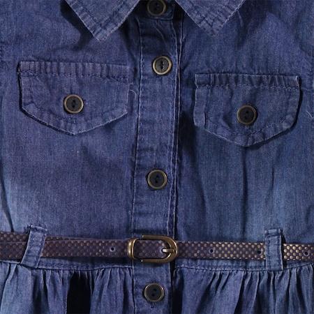 7ba877d291ce4 Civil Girls Kız Çocuk Elbise 10-13 Yaş Mavi - n11.com