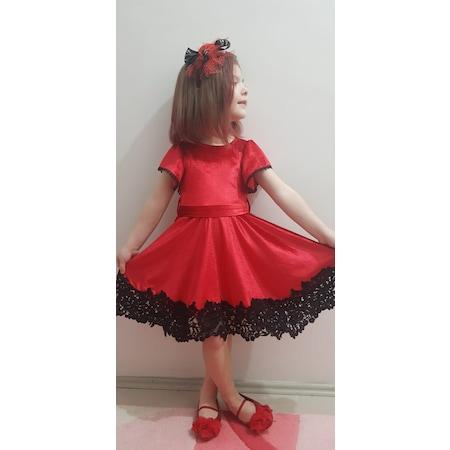 4ca7a3192a99b Kadife Elbise Kız Çocuk Giyim - n11.com