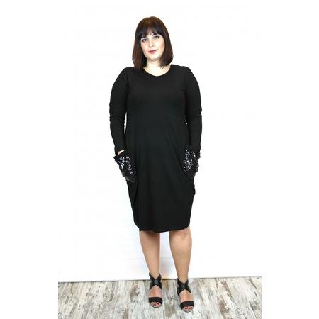 22564dfec1234 Black 2019 Büyük Beden Elbise & Tulum Modelleri - n11.com - 2/6