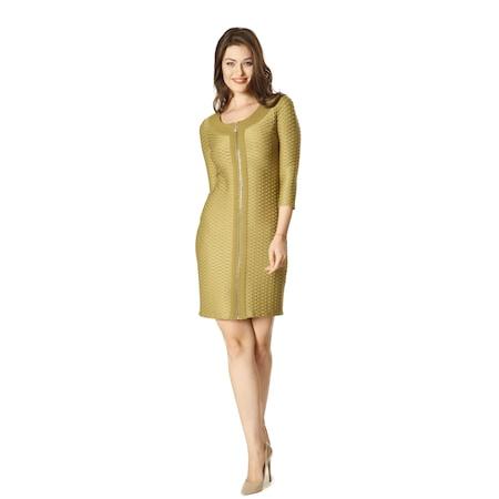 67057b81b79ba 2960 Dodona Tasarım Şık Abiye Gece Kışlık Elbise Yeşil - n11.com
