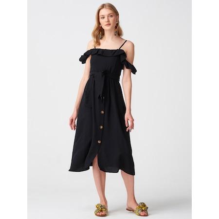 ec48875a2687d Fırfırlı Elbise 2019 Elbise & Tulum Modelleri - n11.com - 3/12