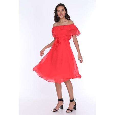 fd4aff95893e2 Ironi Şifon Elbise 2019 Elbise Modelleri & Fiyatları - n11.com - 5/25