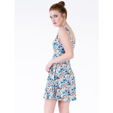 3f629a383964e Cicekli Elbise 2019 Elbise Modelleri & Fiyatları - n11.com