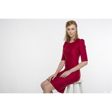 5a5f58abe94ad Dalgıç Kumaş Zarif Tasarım Kalem Elbise - n11.com