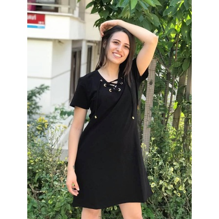 f2721adca515a Düz 2019 Elbise Modelleri & Fiyatları - n11.com