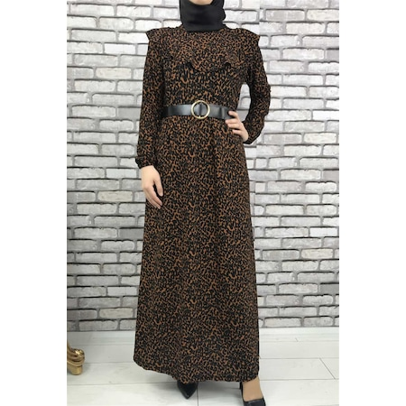 6faf9abc627cc Giiyim 2019 Tesettür Elbise & Tulum Modelleri - n11.com - 47/50