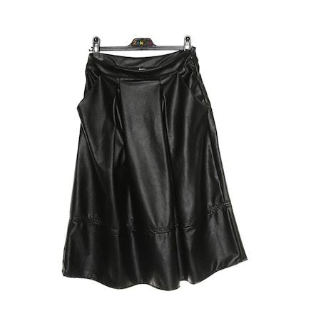 92cedf9e146fb Deri Etek Kız Çocuk Giyim - n11.com