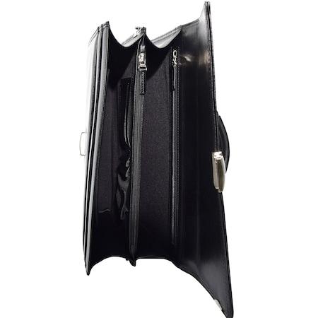 cbd84ec9afd89 Bond 1210-1 Siyah Gerçek Deri Erkek Evrak Çantası - n11.com