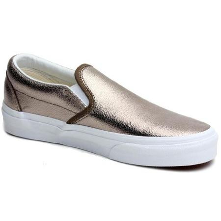 ca1873f593 Ayakkabi Kadın Vans Vuc44ex Classic Slip-on   (metallic) Bronze ...