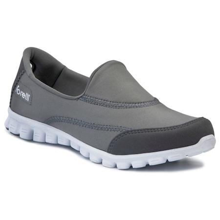 Forelli 60002 Gri Kadın Ayakkabı