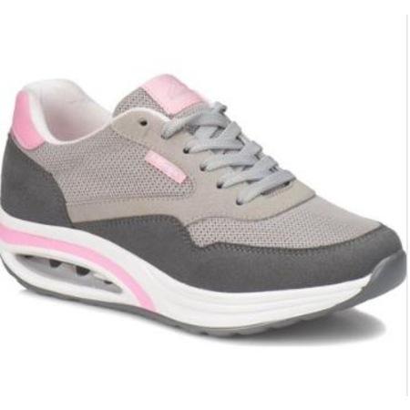 Kinetix Aneta Gri Pembe Kadın Yürüyüş Ayakkabısı Air