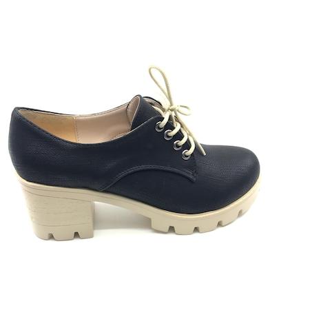 park moda k 106 kalın topuklu bayan ayakkabı 00452