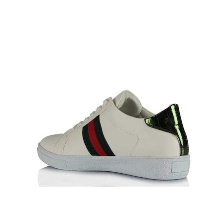 fd0e595bf94cc Spor Ayakkabı Beyaz Tasarım Model - n11.com