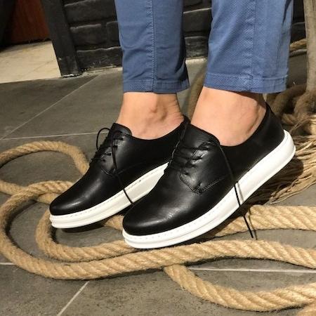 Chekich 03 Siyah Erkek Ayakkabı