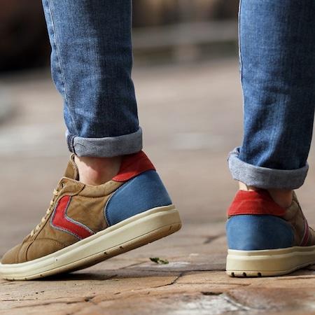 Coton 0707-04 Hardal Bordo Erkek Ayakkabı