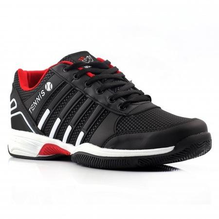 18b0032cd677b Siyah Beyaz Kirmizi Erkek Yazlık Spor Ayakkabı - n11.com