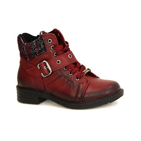 Coton 1350 Stil Fermuarlı Termo Taban Bayan Bot Ayakkabı