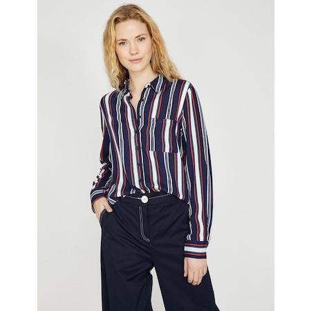 b34f6e6256fef Koton 2019 Bayan Gömlek Modelleri & Fiyatları - n11.com