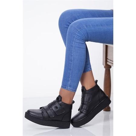 Ayakkabıhavuzu BAYP48 Siyah Kadın Bot