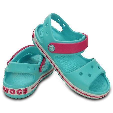 b94d742c85f615 Crocs Crocband Sandal Kids Pool Candy Pink - n11.com