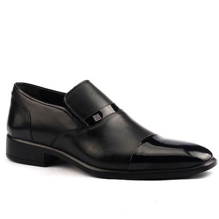 Ayakland 6002 Günlük %100 Deri Termo Taban Erkek Klasik Ayakkabı