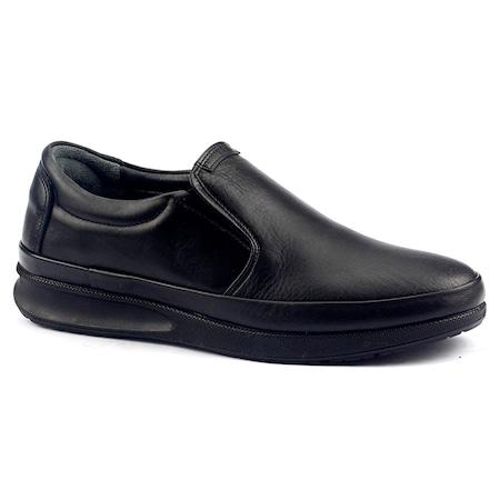 Cafu 044 %100 Deri Termal Kauçuk Taban Erkek Klasik Ayakkabı