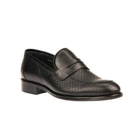Ziya Erkek Hakiki Deri Ayakkabı 8150 7871 Sıyah