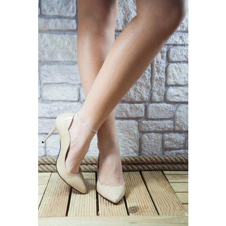 a122fd3a1c8ff Stiletto Ten Rugan Topuklu Bayan Ayakkabı Portföy Çanta Hediyeli - n11.com