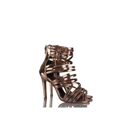 Topuklu Ayakkabı Bakır Renk N11com