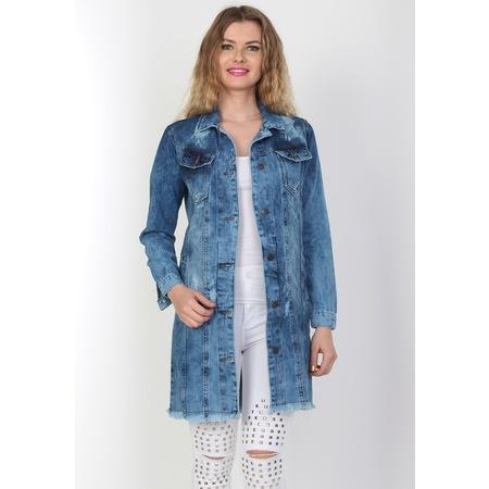 dff7bf3abaacd Kadın 2019 Bayan Kot Ceket Modelleri & Fiyatları - n11.com - 10/14