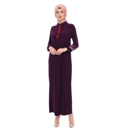0ef0b495906d4 Elbise Tesettür Giyim Tesettür Elbise Uzun Boydan Elbise - n11.com