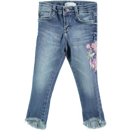 5514f4e56b617 Civil Girls Kız Çocuk Pantolon 10-13 Yaş Mavi - n11.com