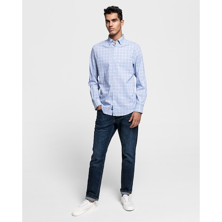 69c35525fc4be Gant Erkek Mavi Regular Fit Tech Prep? Oxford Gömlek 3016330.420 - n11.com