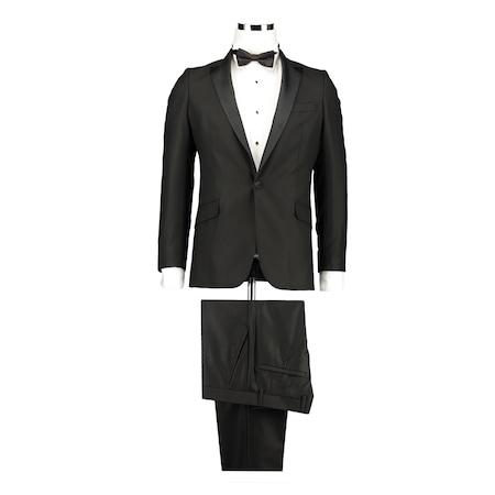 58c58862451a6 Ds Damat Slim Fit Siyah Takım Elbıse - n11.com