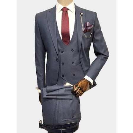 1e754e65b856f Ekoseli 2019 Erkek Takım Elbise Modelleri - n11.com