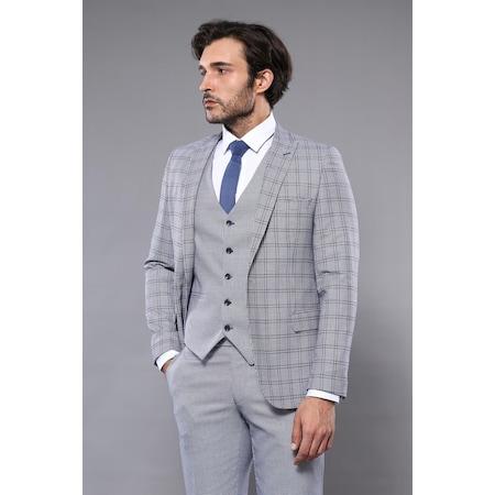 f45edf24ddf3a Centone Takım Elbise 2019 Erkek Takım Elbise Modelleri - n11.com - 31/50