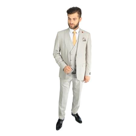 5ba17c44a8e1f Krem 2019 Erkek Takım Elbise Modelleri - n11.com