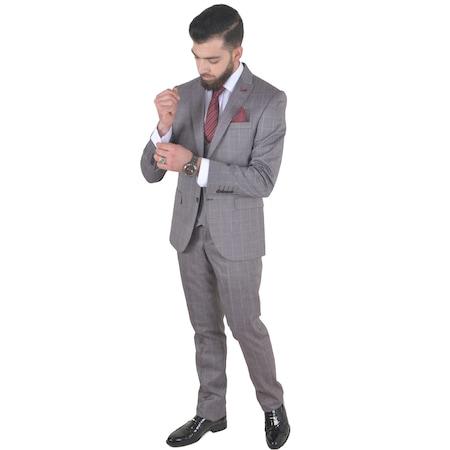 3cf968d10d98f Yelekli Takim Elbise 2019 Erkek Takım Elbise Modelleri - n11.com - 22/23