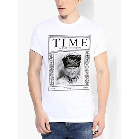 Tshirthane Atatürk TIME Dergi Kapağı Tişört Kısakollu Tshirt
