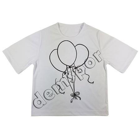 Boyama Tişörtü Balon Tema 12 N11com